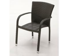 Sillon rattan chocolate Indy