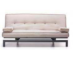 Sofa cama vintage tela crudo 195