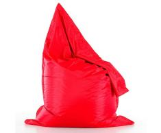 Puf Big bean bag rojo