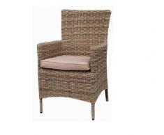 Sillon rattan color natural Kaui