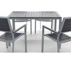 Mesa aluminio lamas Kind 150x90