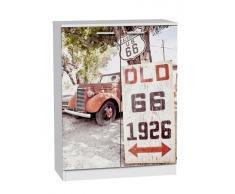 zapatero 2 puertas Ruta 66