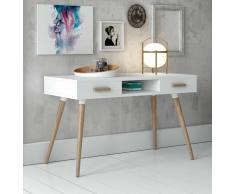 mesa escritorio blanco nordico dk