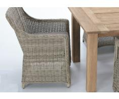 Sillon rattan color natural Java