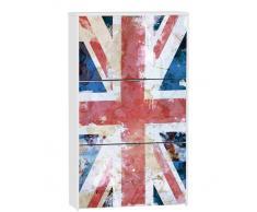 Zapatero 3 puertas British