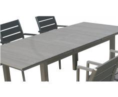Mesa extensible aluminio lamas poliwood Ohio