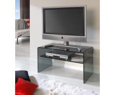Mueble TV cristal con balda TV-610