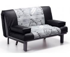 Sofa cama lua polipiel export 145