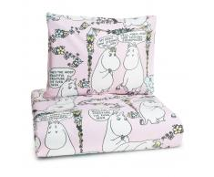 Finlayson Ropa de cama infantil Favorite Moomin rosa