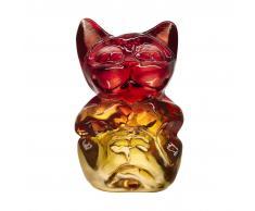 Kosta Boda Escultura Wide Life Babies gato