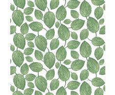 Arvidssons Textil Mantel de hule Lyckans Blad verde