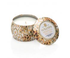 Voluspa Vela perfumada Decorative Tin 25h Prosecco Bellini