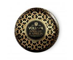 Voluspa Vela perfumada 2-wick in tin 50h Apricot & Aprilia