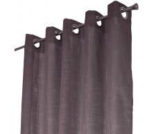 Arvidssons Textil Cortina con ojales Norrsken gris oscuro