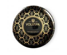 Voluspa Vela perfumada 2-wick in tin 50h Ambre Lumiere