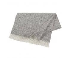 Nordic Nest Manta de lana Salt stone (gris)