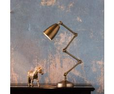Watt & Veke Lámpara de escritorio Ziggy aluminio y latón