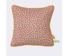 Ferm Living Cojín Dots, rosa 30 x 30 cm