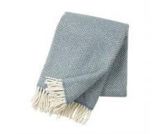 Klippan Yllefabrik Manta de lana Samba gris