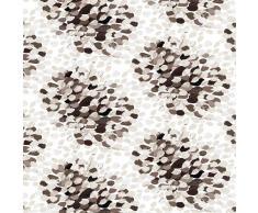 Vallila Interior Cortina Puuska marrón-blanco