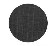 Dixie Mantel individual redondo Sture negro