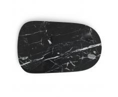 Normann Copenhagen Tabla de cortar Pebble mármol grande
