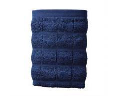 Juna Toalla de mano Tiles azul, 40 x 60 cm