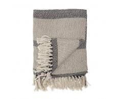 Bloomingville Manta de lana Bloomingville gris