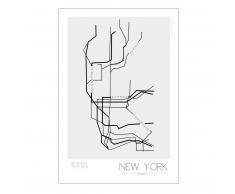 Kreativitum Póster Underground New York