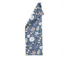 Klippan Yllefabrik Paño de cocina Flower Meadow azul