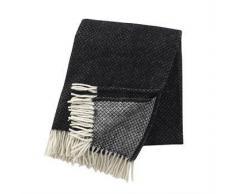 Klippan Yllefabrik Manta de lana Vega negro