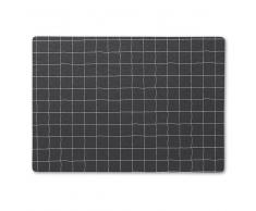 Juna Mantel individual Grafico negro