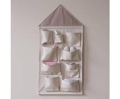 Ferm Living Almacenaje de pared House rose (rosa)