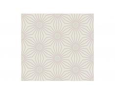 Rollo de papel pintado flor geométrica II