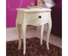 Mesilla 1 cajón blanca Vintage París