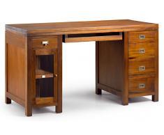 Mesa de escritorio 5 cajones colonial Flamingo