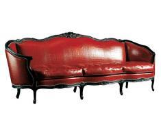 Sofa piel 3 Plazas Narciso en Piel Stampa