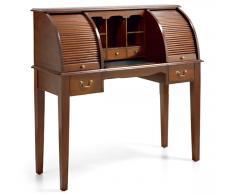 Mesa de escritorio 2 persianas vintage Marty