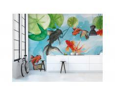 Papel pintado Goldfish Glamora Silvia Betancourt