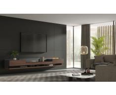 Mueble de tv Florencia con chimenea electrica by Bodonni