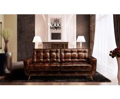 Sofa retro cuero Sterling Cooper