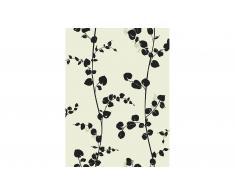 Rollo de papel pintado rama de flores