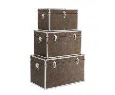 Set de 3 baúles vintage Pure Elegance