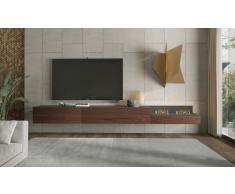Mueble de tv Treviso con chimenea electrica by Bodonni