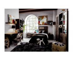 Dormitorio juvenil industrial Etnico