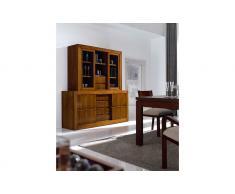 Vitrina de madera clásica Tenán