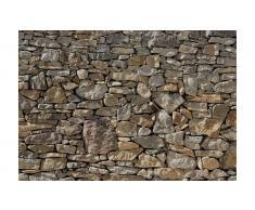 Panel papel pintado muro de piedra caliza