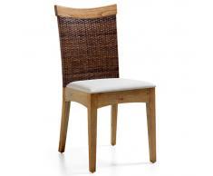 Silla rattán Colonial Merapi