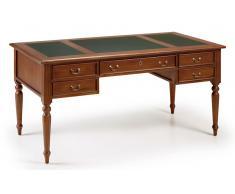 Mesa de escritorio 5 cajones Vintage Victoriano