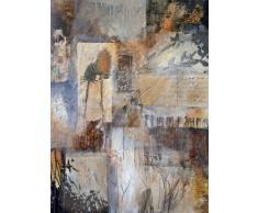 Cuadro Collage Abstracto sobre lienzo Ref. 46